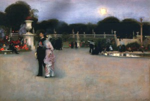 Sargent In the Luxembourg Gardens  1879