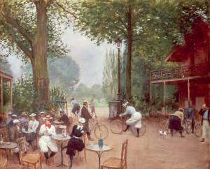 Béraud Le chalet du cycle au Bois de Boulogne