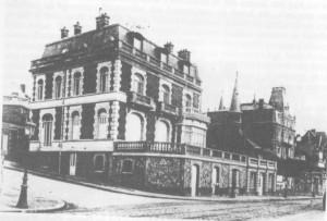 La villa du 2 rue de la Plage au Havre (aujourd'hui rue Guy de Maupassant)