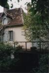 La petite maison de Gargilesse (Indre) aujourd'hui...Un charmant musée consacré à George Sand et à Manceau y est installé.