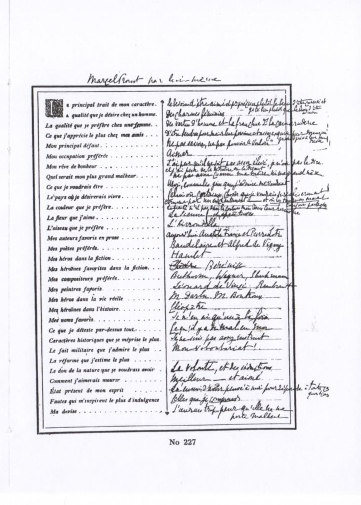 """Le 2ème questionnaire tiré de l'album """"Les Confidences de Salon"""""""
