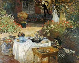 Monet Le déjeuner