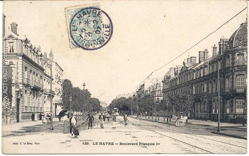 Le boulevard François 1er