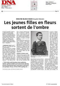 DERNIERES NOUVELLES D'ALSACE-01 OCT 17