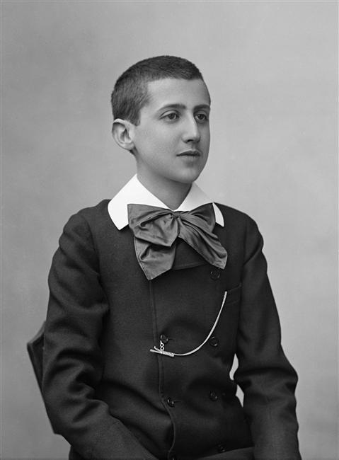 Marcel Proust par Paul Nadar le 24 mars 1887