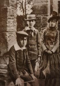 Marcel Proust et Antoinette Faure au Parc Monceau (mai 1886)