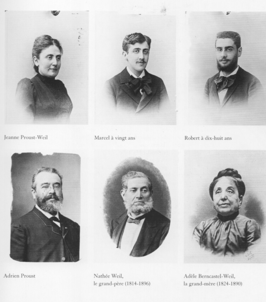 Photo de famille commandée à Paul Nadar par le frère de Mme Proust, Georges Weil , en décembre 1892 (Caisse nationale des Monuments historiques/ Editions du patrimoine, 1999)