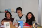 Avec Marie-Emma Dionne et Hélène Michaud