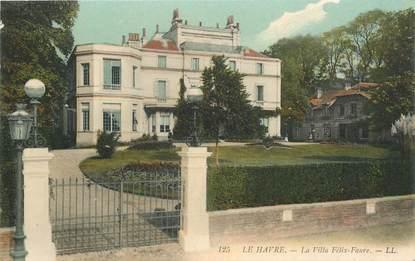 La villa des Faure,  rue de la Côte au Havre