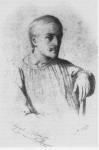 Le graveur Alexandre Manceau en 1848, un an avant sa rencontre avec George Sand.
