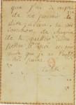 Lettre d'Aurore à sa mère (8 ans)