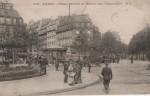"""""""Sur une autre carte, envoyée de Meudon mais figurant la place Péreire et la station de tramways, figurent la rue de Courcelles et l'avenue Niel."""" p. 118"""