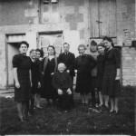 La famille Hanau réfugiée dans la Vienne. Joseph et Cécile ainsi que leur 3 filles, Trudl, Laure et Marga seront déportés en février 1944